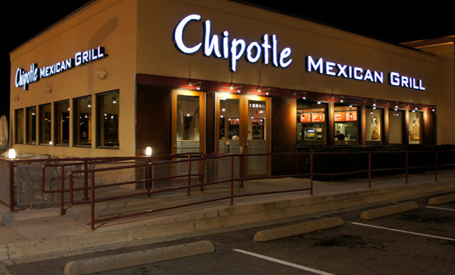 Chipotle opening Hours,