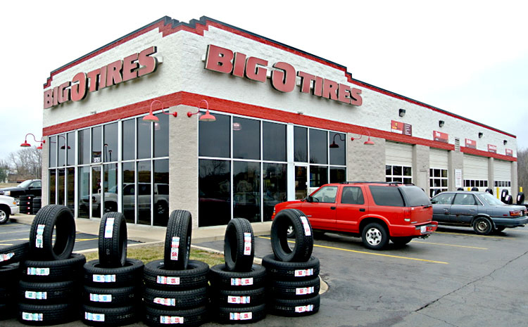 Big O Tires near me
