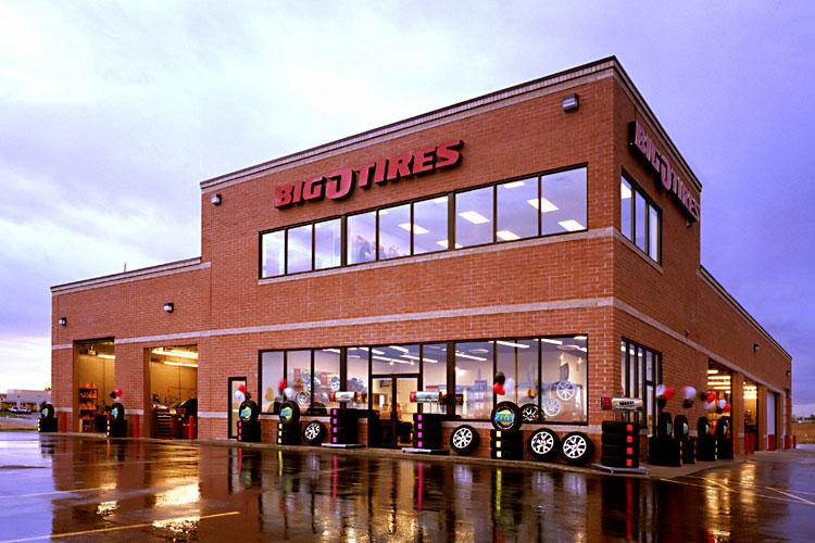 Big O Tier Store locations, Big O Tier locations